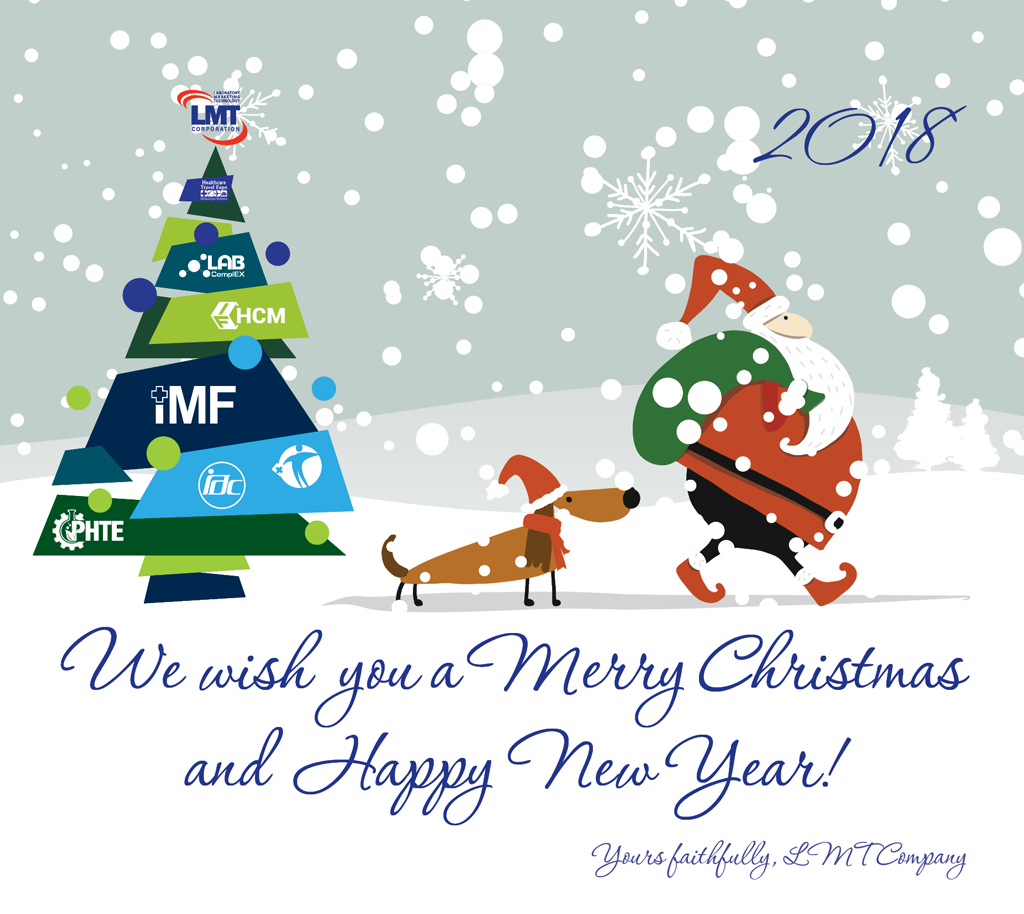 Happy New Year and Merry Christmas – 2018