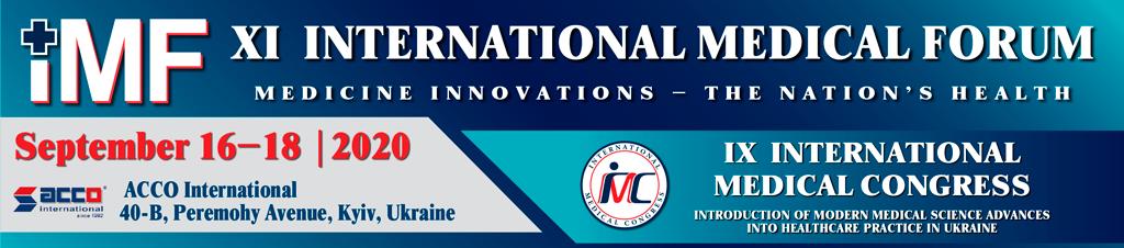 International Medical Forum postponed to September 16-18, 2020