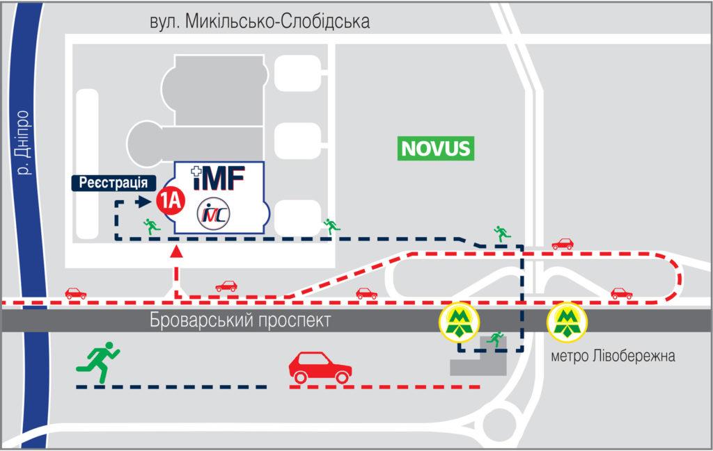 Схема проїзду МВЦ