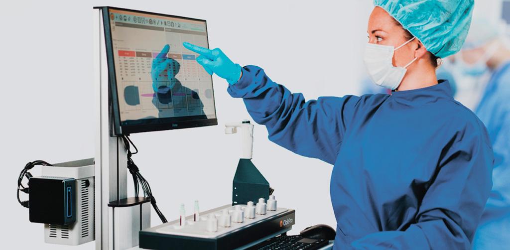 6-канальний аналізатор гемостазу ClotPro
