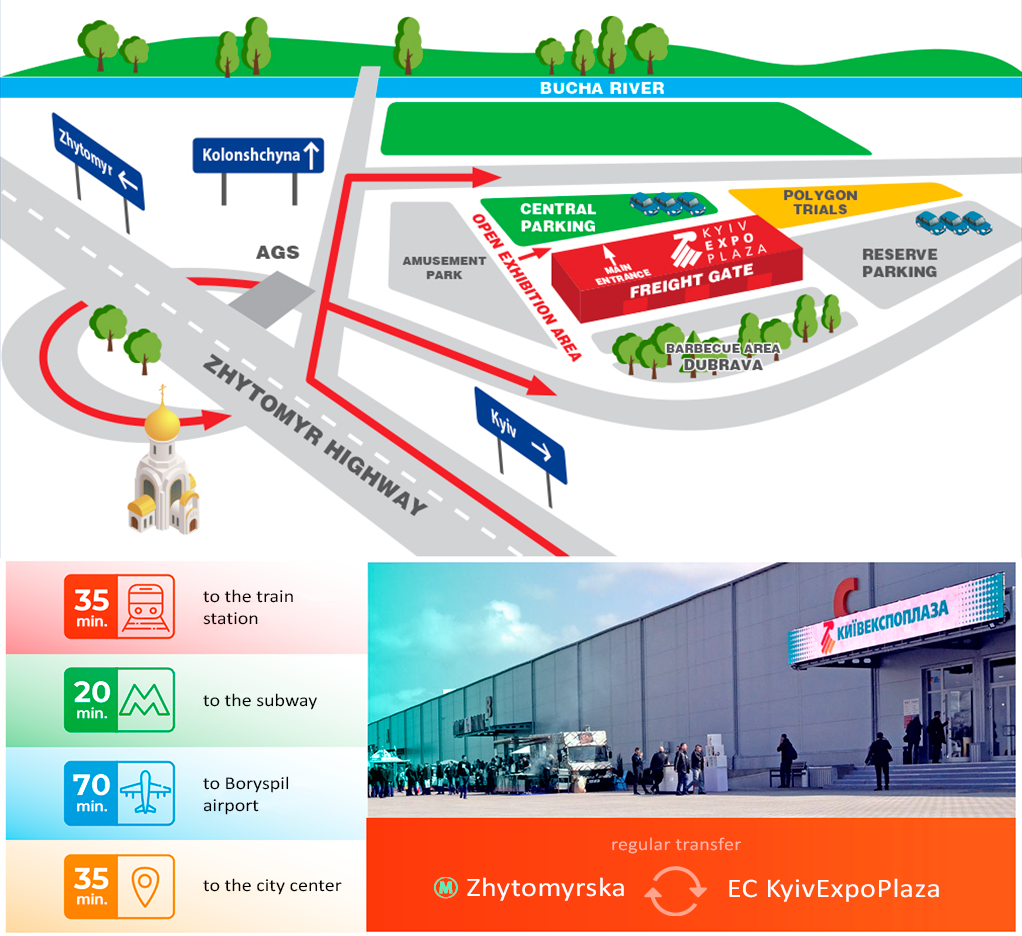 KyivExpoPlaza Exhibition Center